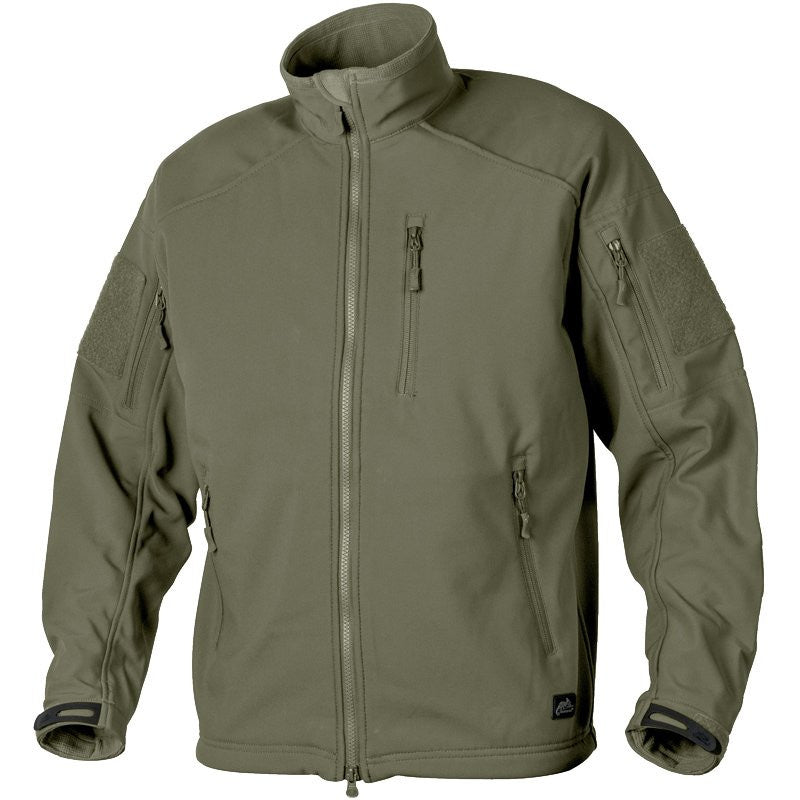 HELIKON-TEX SHARK SKIN DELTA TACTICAL JACKET - OLIVE GREEN - Hock Gift Shop | Army Online Store in Singapore