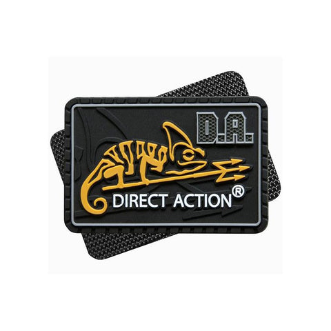DIRECT ACTION MEDIUM LOGO PATCH - BLACK