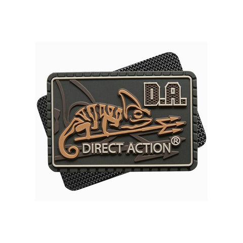DIRECT ACTION MEDIUM LOGO PATCH - COYOTE