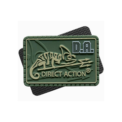 DIRECT ACTION MEDIUM LOGO PATCH - OLIVE GREEN