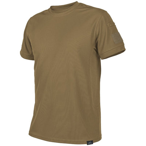 HELIKON-TEX TACTICAL T-SHIRT - COYOTE - Hock Gift Shop | Army Online Store in Singapore