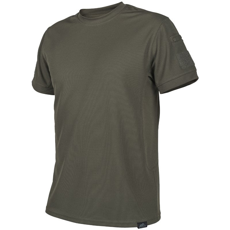 HELIKON-TEX TACTICAL T-SHIRT - OLIVE GREEN - Hock Gift Shop | Army Online Store in Singapore