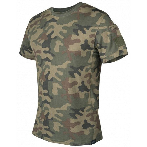 HELIKON-TEX TACTICAL T-SHIRT - PL WOODLAND - Hock Gift Shop | Army Online Store in Singapore