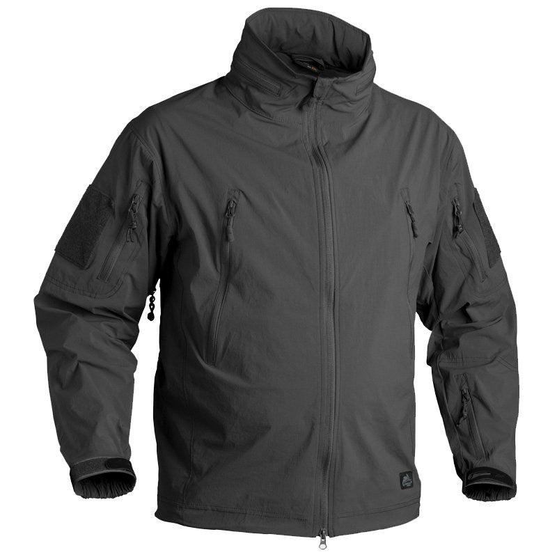 HELIKON-TEX SOFT SHELL TROOPER JACKET - BLACK - Hock Gift Shop | Army Online Store in Singapore