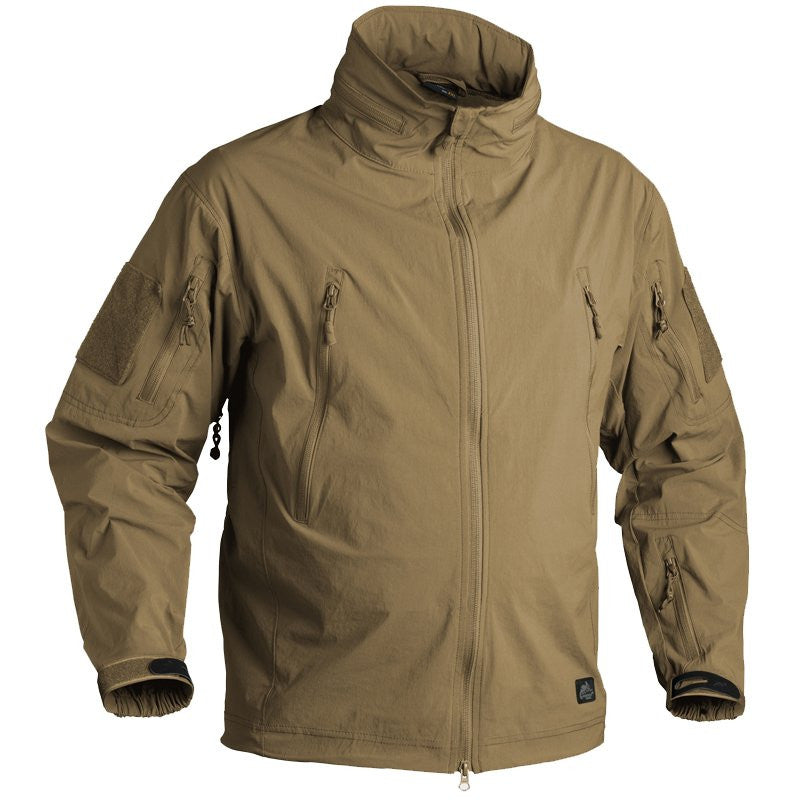 HELIKON-TEX SOFT SHELL TROOPER JACKET - COYOTE - Hock Gift Shop | Army Online Store in Singapore
