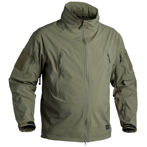 HELIKON-TEX SOFT SHELL TROOPER JACKET - OLIVE GREEN - Hock Gift Shop | Army Online Store in Singapore