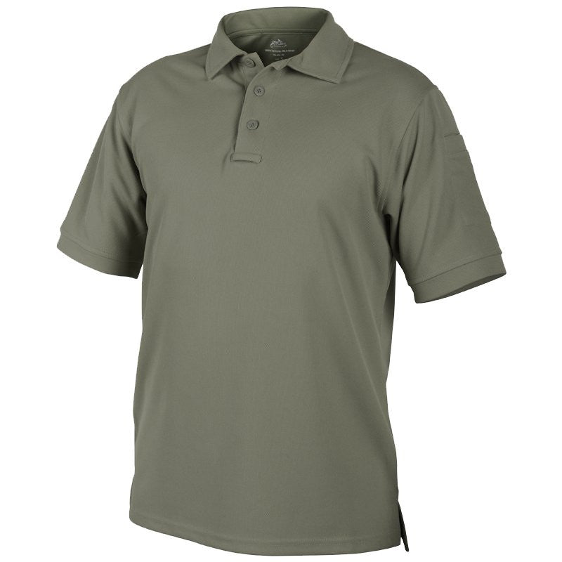HELIKON-TEX UTL POLO SHIRT - ADAPTIVE GREEN - Hock Gift Shop | Army Online Store in Singapore