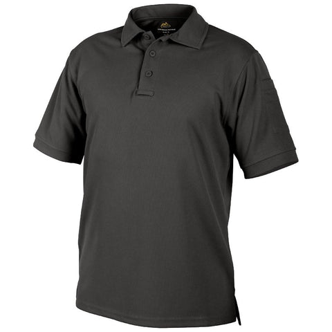 HELIKON-TEX UTL POLO SHIRT - BLACK - Hock Gift Shop | Army Online Store in Singapore