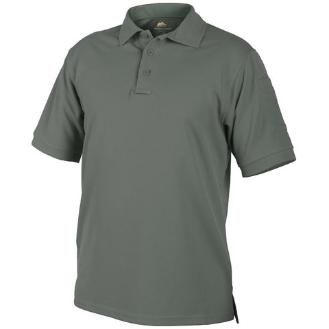 HELIKON-TEX UTL POLO SHIRT - FOLIAGE GREEN - Hock Gift Shop | Army Online Store in Singapore
