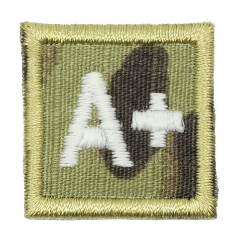 "HGS BLOOD GROUP 1"" PATCH, A+ (MULTICAM) - Hock Gift Shop 