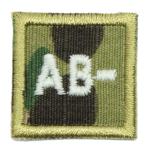 "HGS BLOOD GROUP 1"" PATCH, AB- (MULTICAM) - Hock Gift Shop 