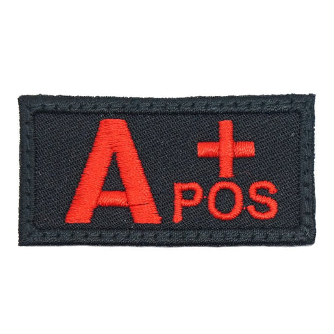 HGS BLOOD GROUP PATCH - A POSITIVE (BLACK) - Hock Gift Shop | Army Online Store in Singapore