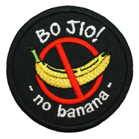 BO JIO PATCH - BLACK - Hock Gift Shop | Army Online Store in Singapore