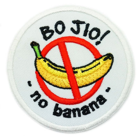BO JIO PATCH - WHITE - Hock Gift Shop | Army Online Store in Singapore
