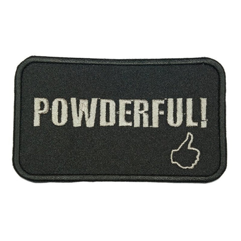 POWDERFUL PATCH - BLACK - Hock Gift Shop | Army Online Store in Singapore