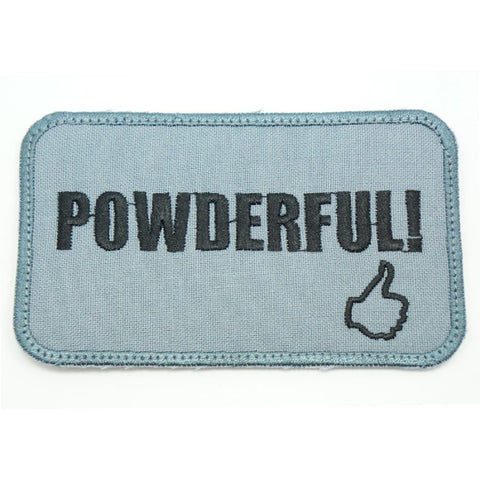 POWDERFUL PATCH - GREY - Hock Gift Shop | Army Online Store in Singapore