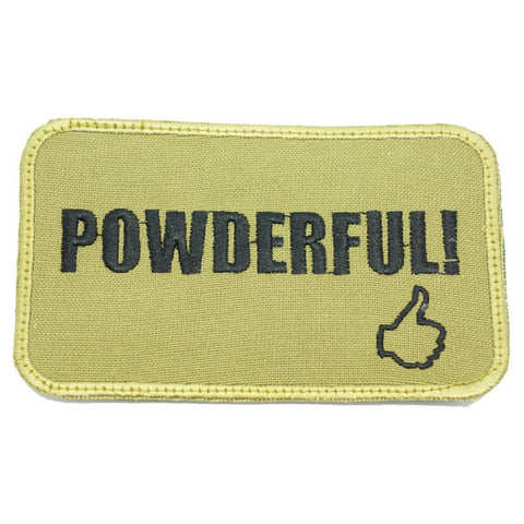 POWDERFUL PATCH - OLIVE GREEN - Hock Gift Shop | Army Online Store in Singapore