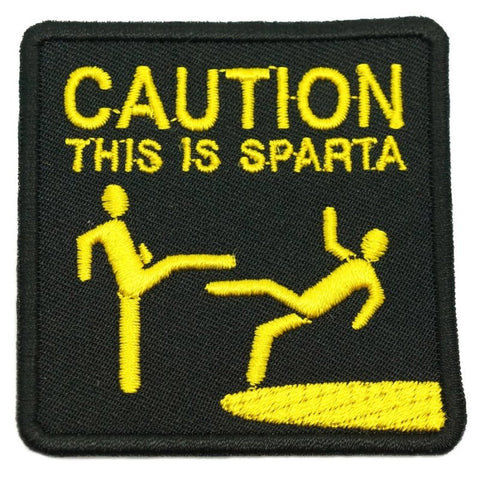 THIS IS SPARTA PATCH - BLACK - Hock Gift Shop | Army Online Store in Singapore