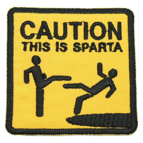 THIS IS SPARTA PATCH - YELLOW - Hock Gift Shop | Army Online Store in Singapore