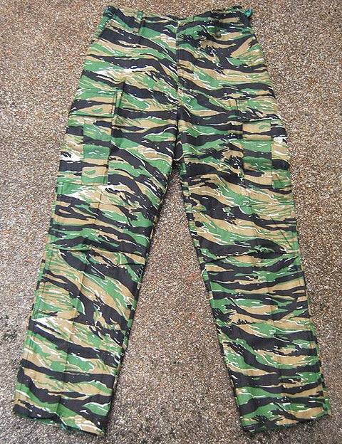 HIGH DESERT BDU PANTS - TIGER STRIPE - Hock Gift Shop | Army Online Store in Singapore