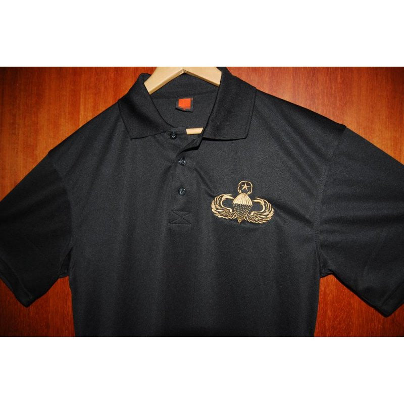 HGS POLO T-SHIRT - US MASTER PARACHUTIST - Hock Gift Shop | Army Online Store in Singapore