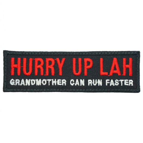 HURRY UP LAH - BLACK RED - Hock Gift Shop | Army Online Store in Singapore