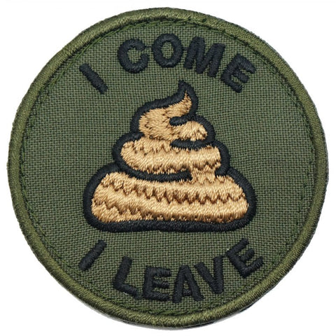 "I COME ""POO"" I LEAVE - OD - Hock Gift Shop 