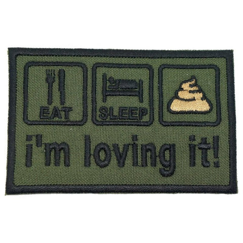 I'M LOVING IT PATCH - OD GREEN - Hock Gift Shop | Army Online Store in Singapore