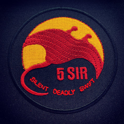 5 SIR LOGO PATCH - FULL COLOR