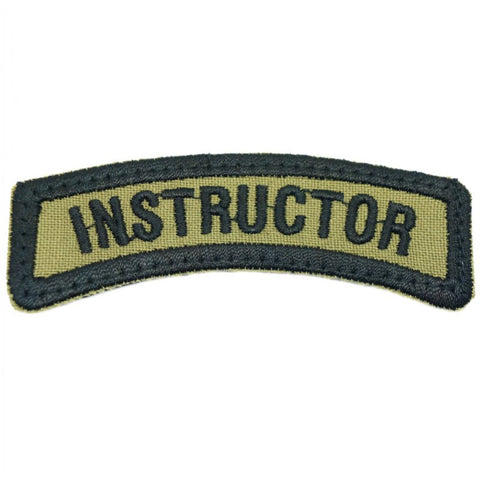 INSTRUCTOR TAB - OLIVE GREEN - Hock Gift Shop | Army Online Store in Singapore