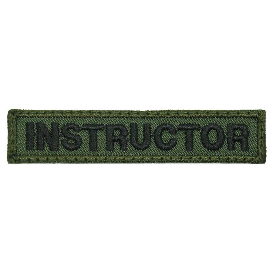 INSTRUCTOR TAG 7CM - OD GREEN