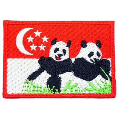 SINGAPORE JIA JIA KAI KAI PANDA PATCH - Hock Gift Shop | Army Online Store in Singapore
