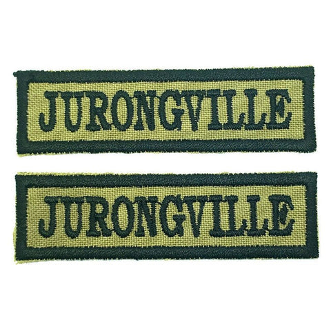 JURONGVILLE NCC SCHOOL TAG - 1 PAIR - Hock Gift Shop | Army Online Store in Singapore