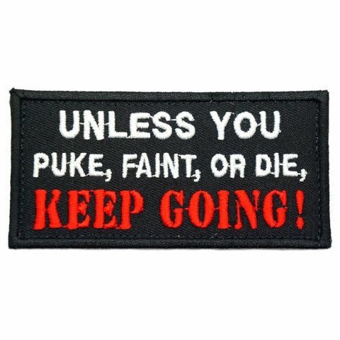 KEEP GOING PATCH - BLACK - Hock Gift Shop | Army Online Store in Singapore