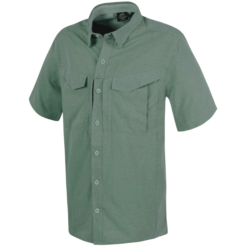 HELIKON-TEX DEFENDER MK2 ULTRALIGHT SHIRT SHORT SLEEVE - SAGE GREEN