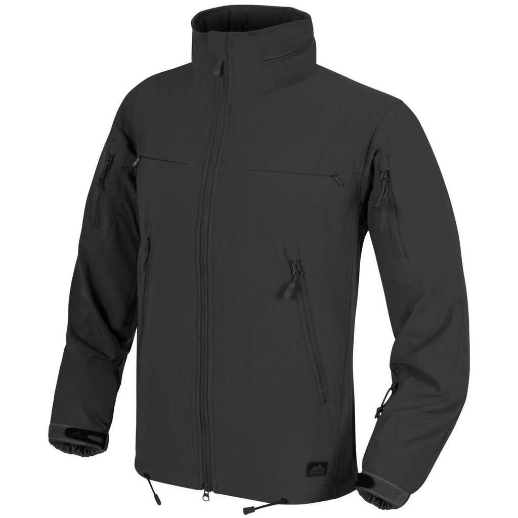 HELIKON-TEX COUGAR QSA + HID JACKET - BLACK