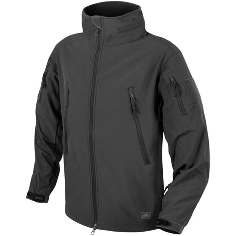 HELIKON-TEX GUNFIGHTER JACKET - SHARK SKIN WINDBLOCKER (BLACK)