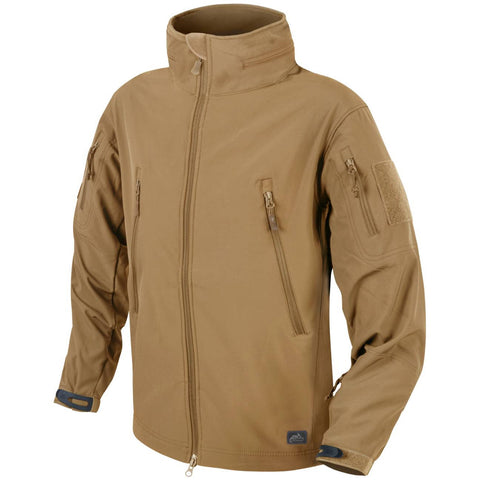 HELIKON-TEX GUNFIGHTER JACKET - SHARK SKIN WINDBLOCKER (COYOTE)