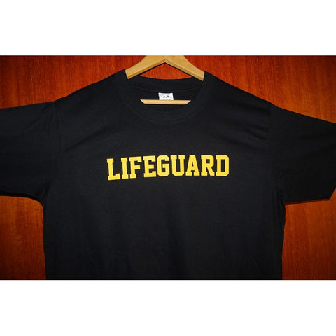 HGS T-SHIRT - LIFEGUARD (YELLOW PRINT) - Hock Gift Shop | Army Online Store in Singapore