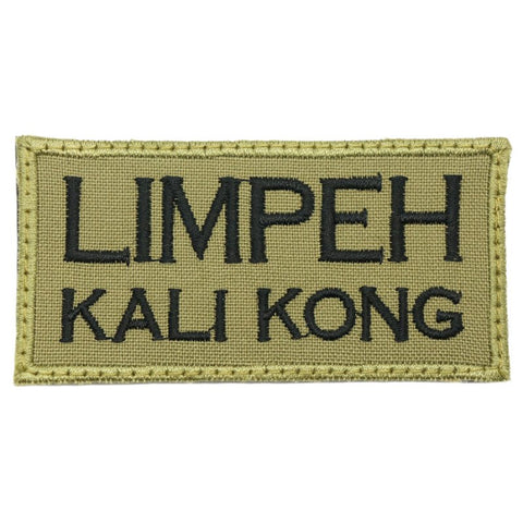 LIMPEH KALI KONG PATCH - OLIVE GREEN - Hock Gift Shop | Army Online Store in Singapore