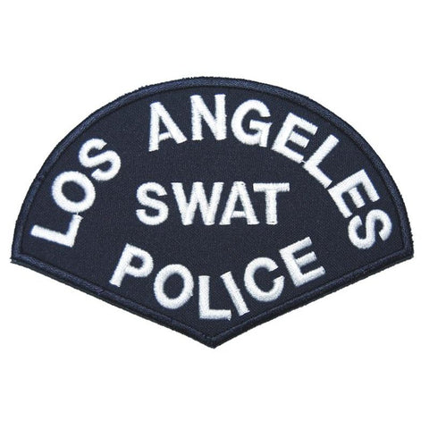 LOS ANGELES SWAT POLICE PATCH - NAVY BLUE - Hock Gift Shop | Army Online Store in Singapore