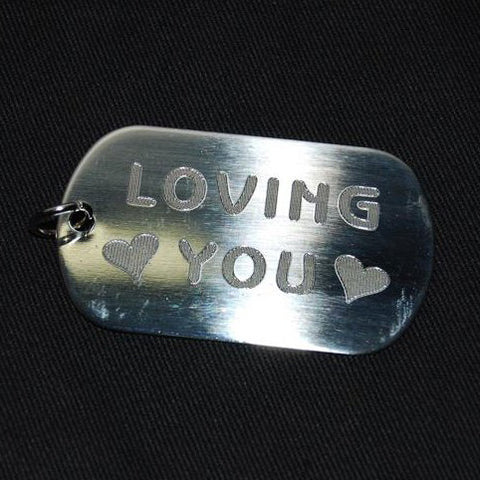 LOVING YOU DOG TAG - Hock Gift Shop | Army Online Store in Singapore