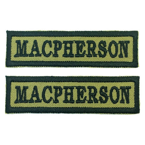 MACPHERSON NCC SCHOOL TAG - 1 PAIR - Hock Gift Shop | Army Online Store in Singapore
