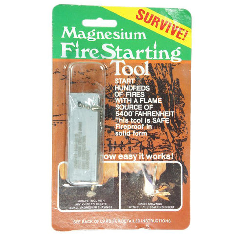 MAGNESIUM FIRE STARTING TOOL - Hock Gift Shop | Army Online Store in Singapore