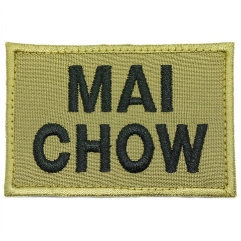 MAI CHOW PATCH - OLIVE GREEN - Hock Gift Shop | Army Online Store in Singapore