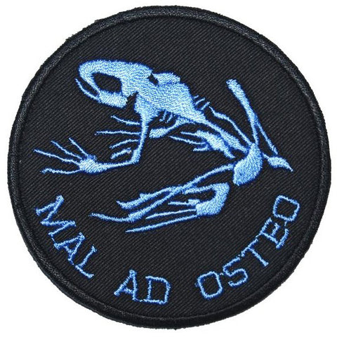 MAL AD OSTEO PATCH - BLACK BLUE - Hock Gift Shop | Army Online Store in Singapore
