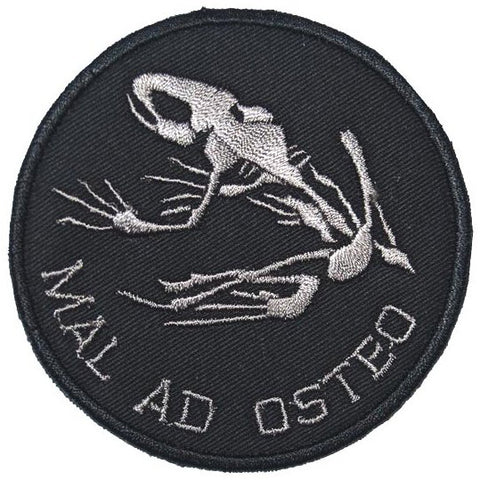 MAL AD OSTEO PATCH - BLACK GREY - Hock Gift Shop | Army Online Store in Singapore