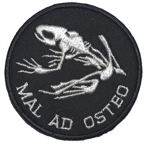 MAL AD OSTEO PATCH - BLACK SILVER - Hock Gift Shop | Army Online Store in Singapore