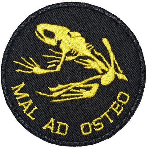 MAL AD OSTEO PATCH - BLACK YELLOW - Hock Gift Shop | Army Online Store in Singapore