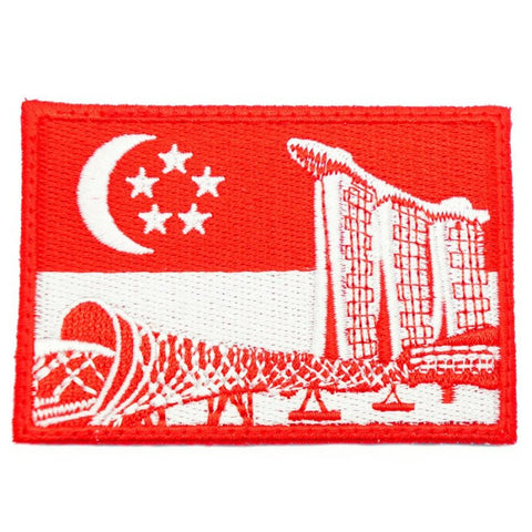 SINGAPORE MARINA BAY SANDS HELIX BRIDGE PATCH - Hock Gift Shop | Army Online Store in Singapore
